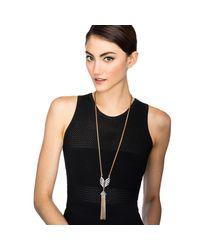 Lulu Frost - Metallic Symmetry Tassel Necklace - Lyst