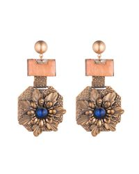 Lulu Frost - Orange *vintage* 100 Year Earring #12 - Lyst