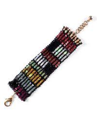 Lulu Frost | Multicolor Josephine Sequin Bracelet | Lyst