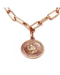 Lulu Frost - Metallic George Frost G. Frost Protection Necklace - Lyst