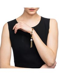 Lulu Frost | Blue Ursula Tassel Bracelet | Lyst