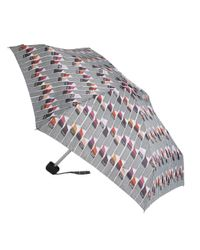 Lulu Guinness - Multicolor Vertical Lipstick Print Tiny Umbrella - Lyst