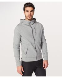 63fa1e00a lululemon athletica City Sweat Zip Hoodie in Gray for Men - Lyst