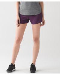 lululemon athletica - Multicolor Run Times Short - Lyst