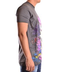 DSquared² - Gray DSQUARED2 T-shirt for Men - Lyst