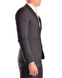 Les Hommes - Black LES HOMMES - URBAN Blazer for Men - Lyst