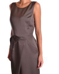 Armani - Brown Armani Collezioni Dress - Lyst