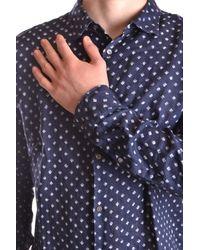 Michael Kors - Blue Michael Kors Shirts for Men - Lyst