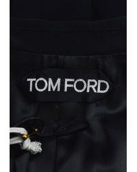 Tom Ford - Black Oversize Lapel Structured Blazer - Lyst