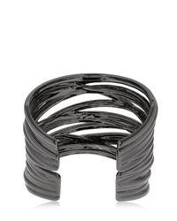 FEDERICA TOSI - Black Big Stick Bracelet - Lyst