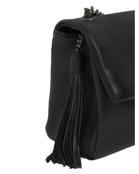 Saint Laurent | Black West Hollywood Leather Bag W/ Tassel | Lyst