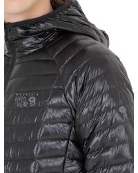 Mountain Hardwear - Black Ghost Whisperer Hooded Down Jacket for Men - Lyst