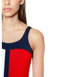 Tommy Hilfiger Red Flag One Piece Swimsuit