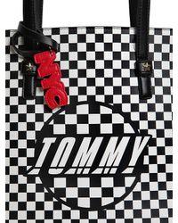 Tommy Hilfiger - Black Gigi Hadid Speed Faux Leather Tote Bag - Lyst