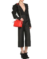 Fendi - Red Small Dotcom Quilted Leather Bag - Lyst