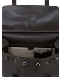 Dolce & Gabbana - Brown Leather Maxi Backpack for Men - Lyst