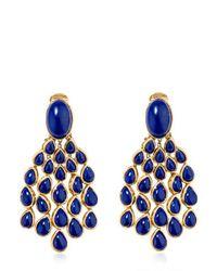 Aurelie Bidermann - Blue Cherokee Lapis Earrings - Lyst
