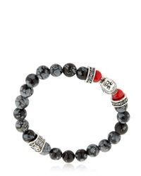 Cantini Mc Firenze - Gray Buddha Bracelet - Lyst