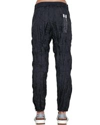 Alexander Wang - Black Aw Wrinkled Tear Away Track Pants - Lyst