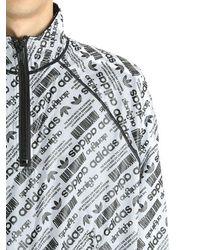Alexander Wang - Black Reversible Ripstop & Mesh Windbreaker for Men - Lyst