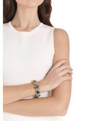 Iosselliani - Metallic Anubian Crystal Bracelet - Lyst