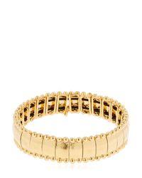 Philippe Audibert - Metallic Lou Gold Plated Bracelet - Lyst