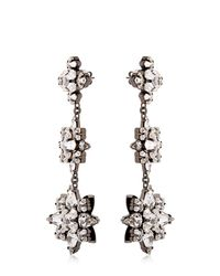 Ellen Conde - Metallic Brilliant Jewelry Crystal Earrings - Lyst