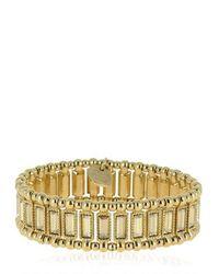 Philippe Audibert - Metallic Titia Light Gold Stretch Bracelet - Lyst