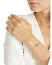 Apm Monaco - Metallic Éte Lucky Eye Yellow Silver Bracelet - Lyst