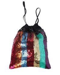 Attico - Multicolor Rainbow Sequined Pouch - Lyst