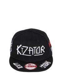 KTZ - White Logo Embroidered Baseball Hat for Men - Lyst