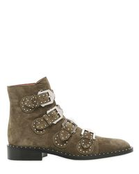 Givenchy - Multicolor 20mm Prue Studded Leather Ankle Boots - Lyst