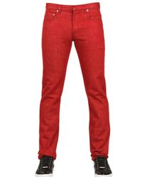 Dior Homme | Red 19cm Regal Drill Jeans for Men | Lyst