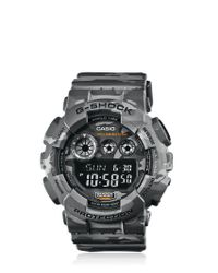 G-Shock | Gray Absolute Grey Camouflage Digital Watch for Men | Lyst