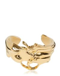 Saint Laurent | Metallic Handgun Cuff Bracelet for Men | Lyst