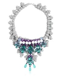 EK Thongprasert | Purple Arabesque Necklace | Lyst