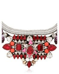 Shourouk - Purple Avalon Necklace - Lyst