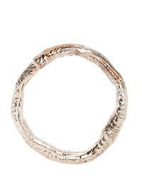 Janelle Khouri | Metallic Metal Love Bracelet | Lyst