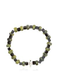 Luis Morais | Green Beaded Bracelet | Lyst