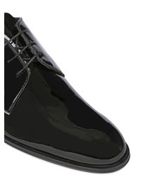 Mr. Hare - Black Patent Leather Derby Lace-up Shoes for Men - Lyst