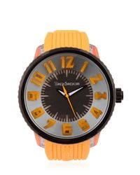 Tendence - Flash Led Orange Watch for Men - Lyst