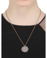 Roberto Marroni | Metallic Surround Diamond Necklace | Lyst