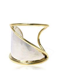 Anndra Neen | Metallic Horizon Cuff Bracelet | Lyst