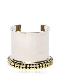 Anndra Neen | Metallic Chime Cuff Bracelet | Lyst