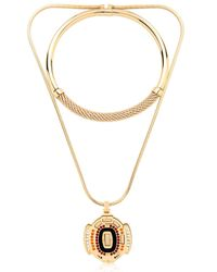 Ledaotto | Metallic Buffalo Bills Stadium Necklace | Lyst