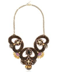 Deepa Gurnani | Metallic Fiesta Bonita Necklace | Lyst