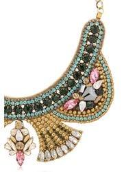 Deepa Gurnani   Metallic Fiesta Bonita Necklace   Lyst