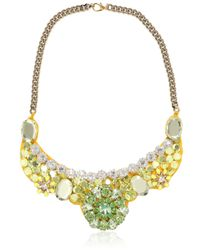 Ortys | Broche Green Necklace | Lyst