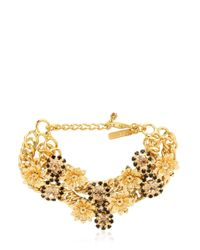 Mercantia | Metallic Lux Flower Bracelet | Lyst