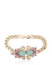 Anton Heunis | Metallic Double Flower Bracelet | Lyst
